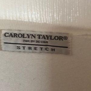 Carolyn Taylor Sweaters - White Cardigan